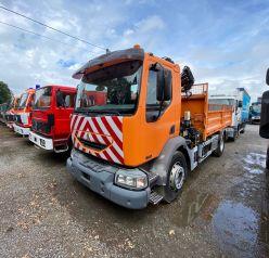 """Renault Midlum 220DCI """"tipper with crane"""""""